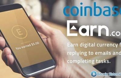 Coinbase, Earn.com'u Satın Almak İstiyor