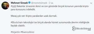 Mehmet Şimsek'in Twitter'de Paylaştığı Yazı