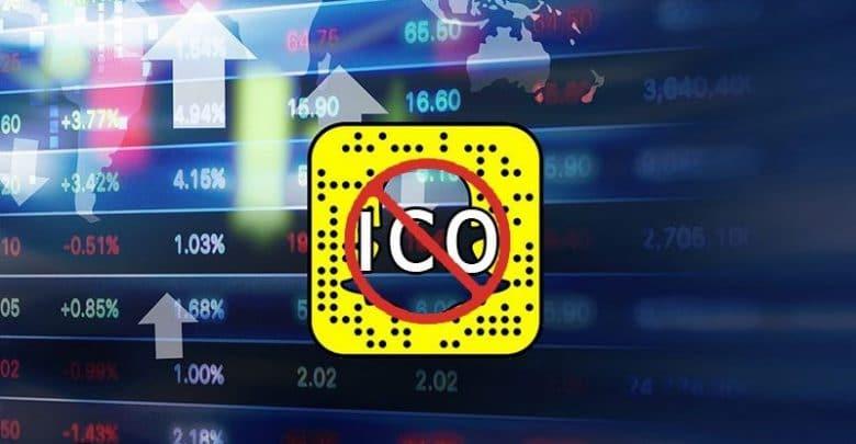 Snapchat ICO Reklamlarını Yasaklıyor