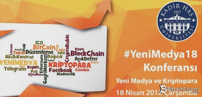 Yeni Medya Ve Kripto Konferansı 18 Nisan'da