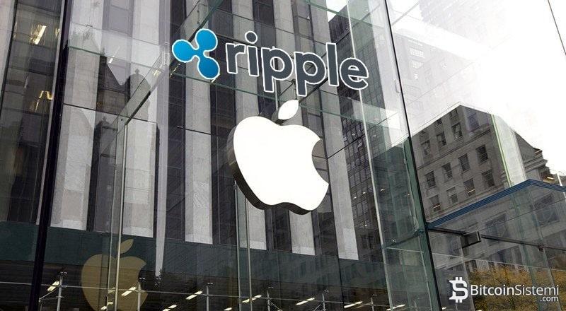 Apple Artık Ripple Ödeme Sistemini Destekleyecek