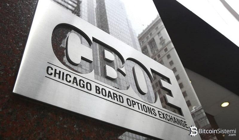 Cboe Exchange, Bitcoin'in Vadeli İşlemlerini Düşürmek İstiyor
