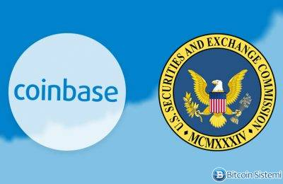 Coinbase SEC'e Lisans Başvurusu Yaptı