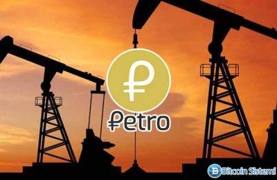 Petro İhracatta Kullanılacak