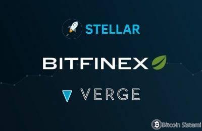 Bitfinex Verge (XVG) ve Stellar'ı (XLM) Listelemeye Başladı