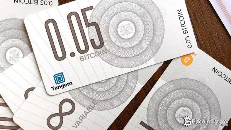 Bitcoin İçin Banknot Üretildi